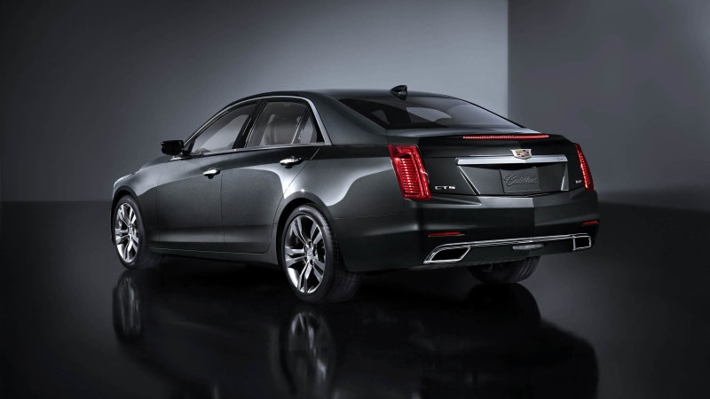 Some 2014-2015 Cadillac CTS V-Sports recalled for defective roll pins
