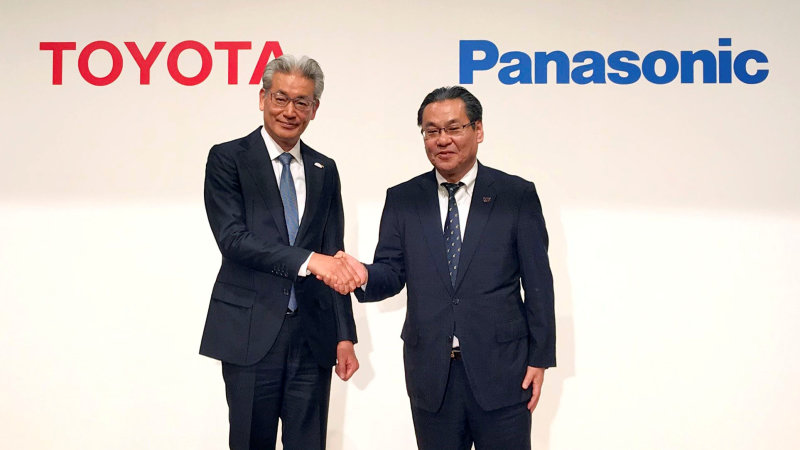 Toyota and Panasonic create joint venture to produce EV batteries