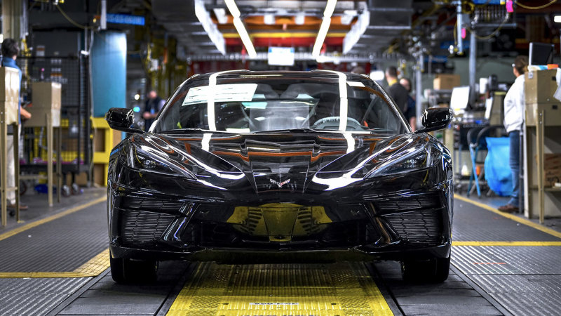2020 Chevy Corvette production officially starts today