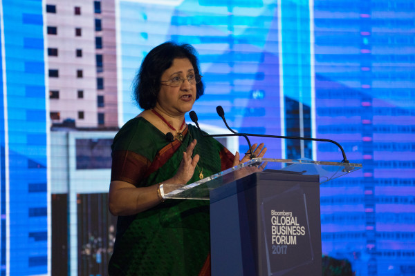 Salesforce hires former banker Arundhati Bhattacharya as chairperson and CEO of India business – TechCrunch