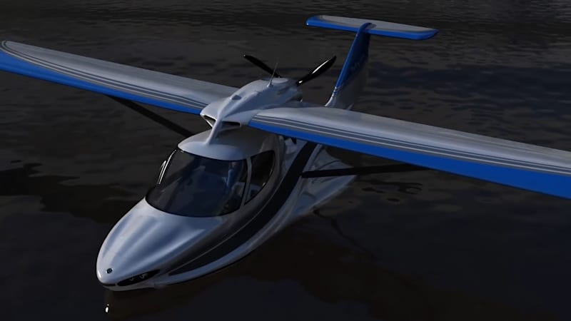 Would you want to see this prototype amphibious aircraft become a reality?