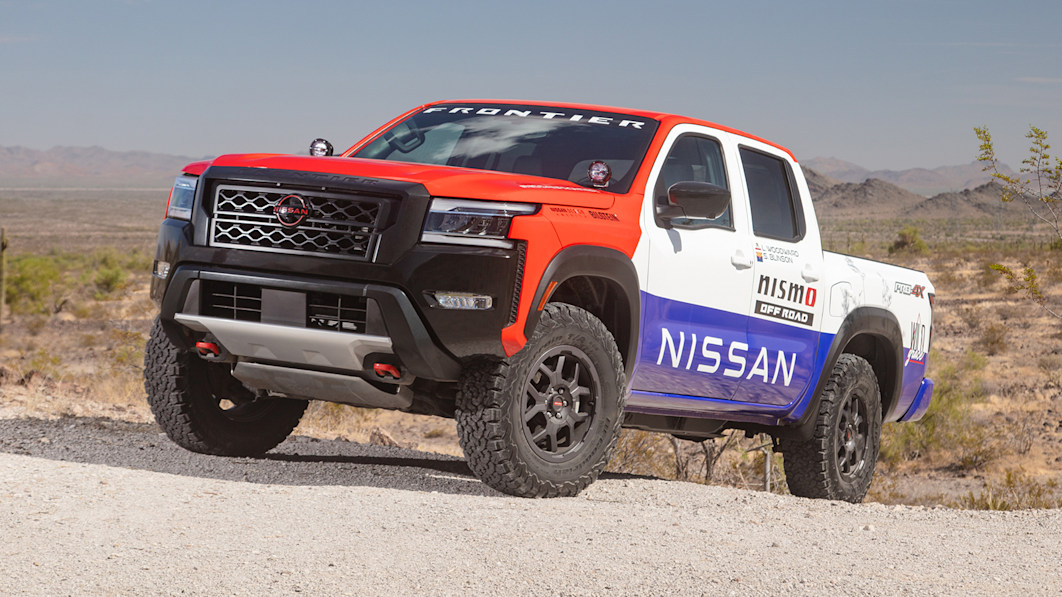 2022 Nissan Frontier enters Rebelle Rally with retro livery, Nismo parts