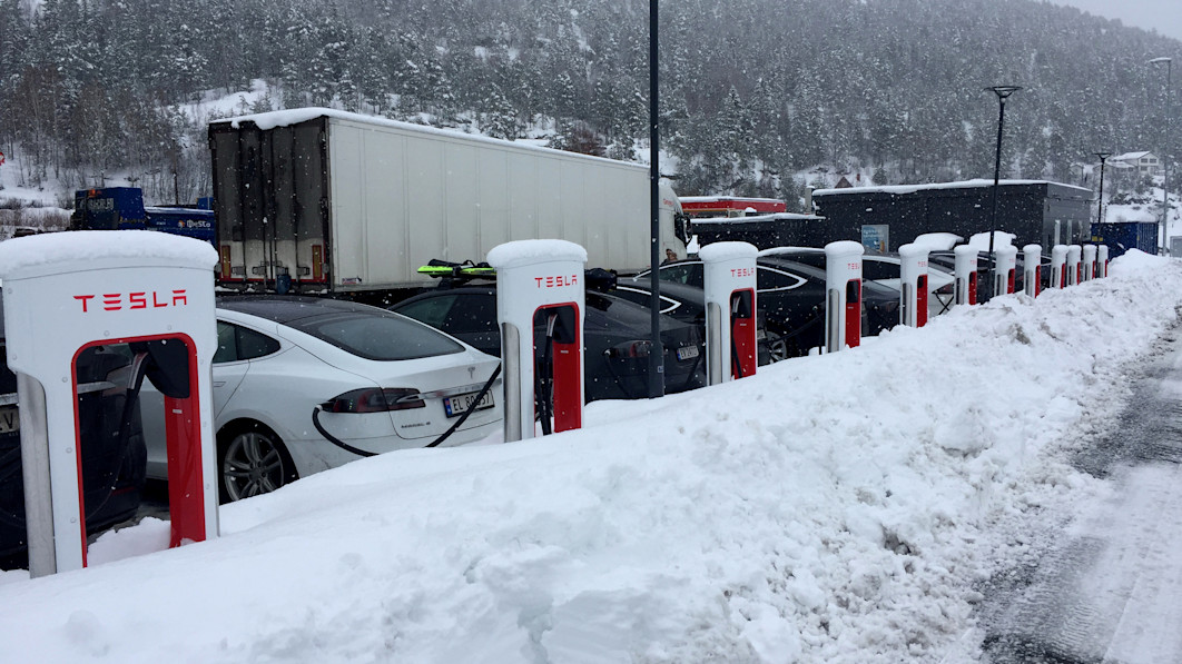 Nearly 80% of Norway's new car sales are electric